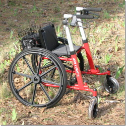 Review Of Walk N Chair All Terrain Outdoor Rolling Walker